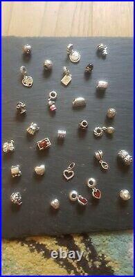 Genuine PANDORA SILVER /14ct gold /two tone Bracelet/rings/necklace/box/charms